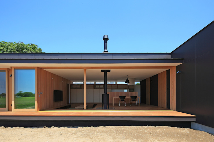 CONVEX HOUSE / 南側外観2 モダンな 家 の SCALE     株式会社スケール モダン