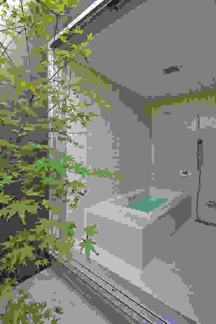 CONVEX HOUSE / 浴室 モダンスタイルの お風呂 の SCALE     株式会社スケール モダン