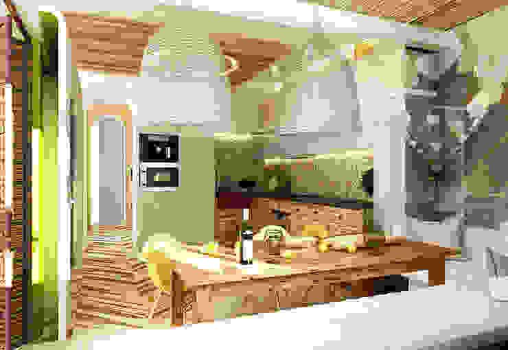 Cocinas de estilo mediterráneo de WhiteRoom Mediterráneo