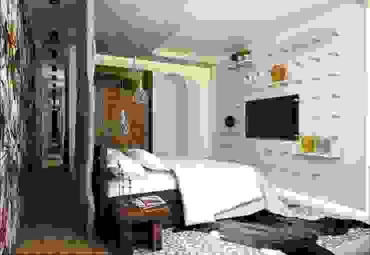Dormitorios mediterráneos de WhiteRoom Mediterráneo