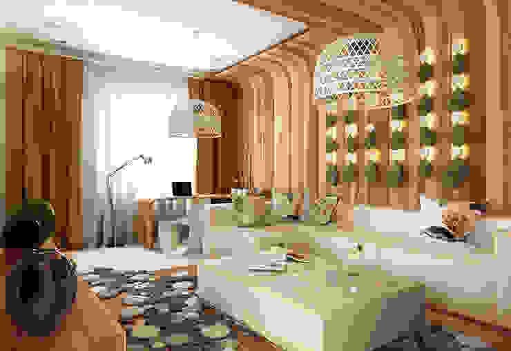 Гостиная Гостиная в средиземноморском стиле от WhiteRoom Средиземноморский