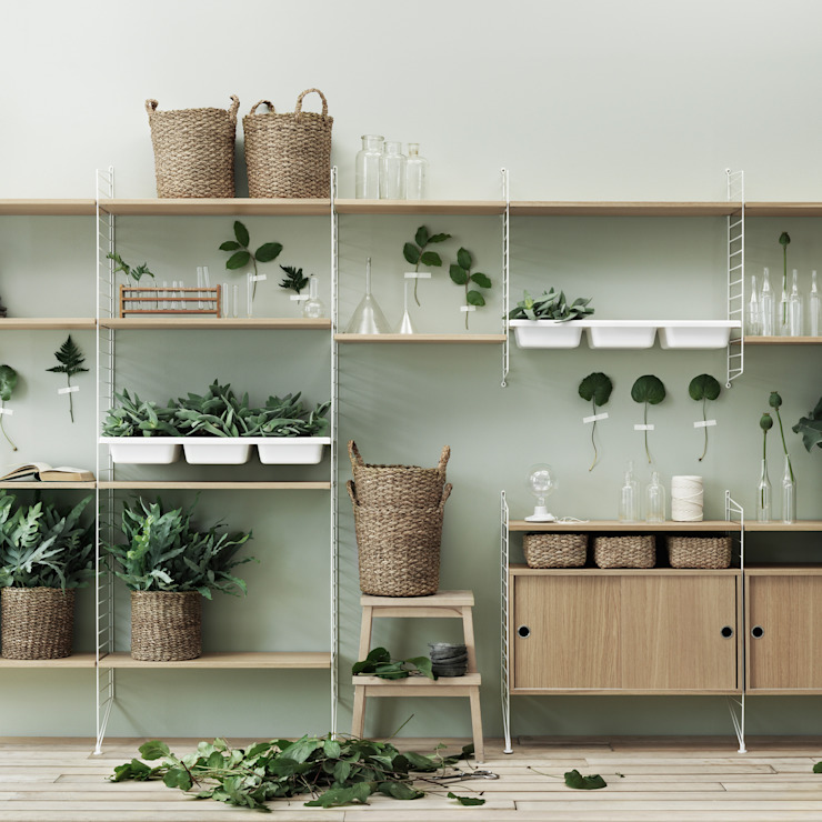 Connox Living roomShelves