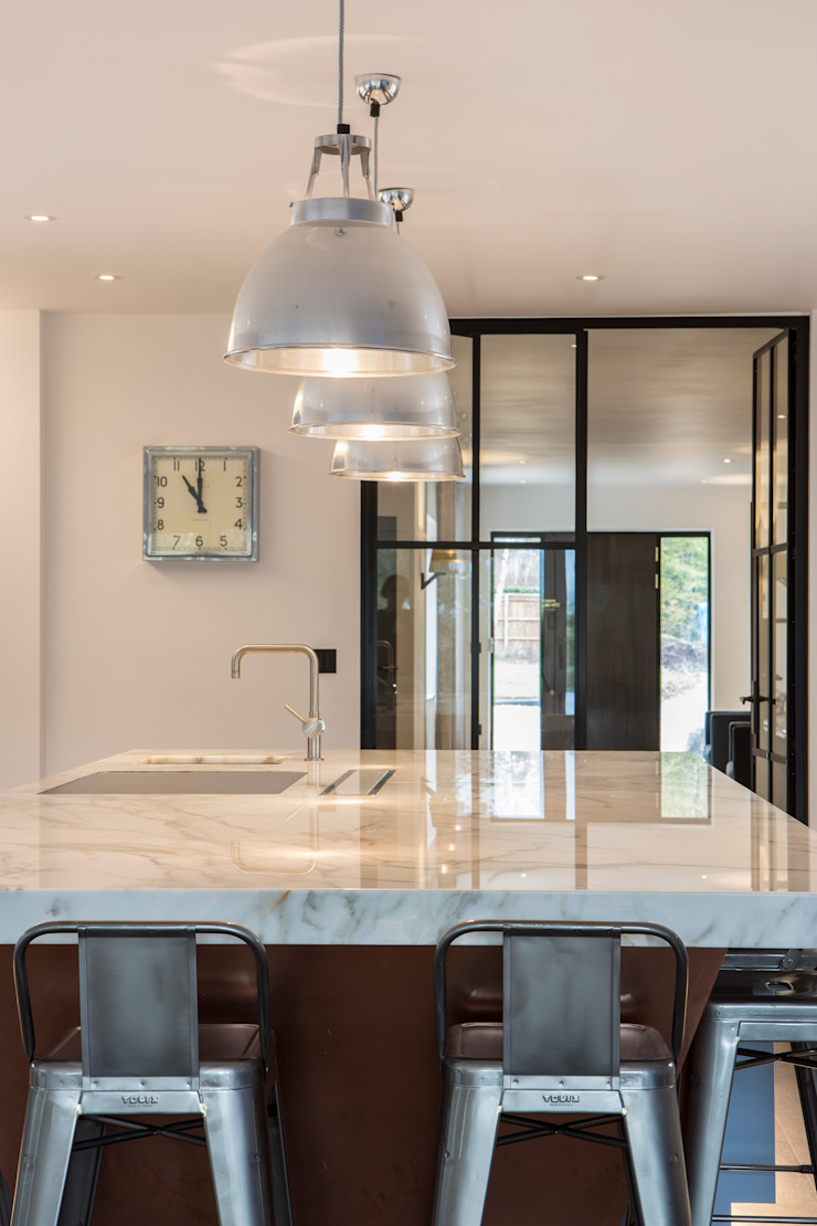 Private Residence, Surrey Modern kitchen by Nice Brew Interior Design Modern