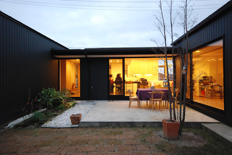 Modern garden by 一級建築士事務所A-SA工房 Modern