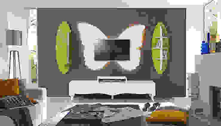 Füme Mobilya – Kelebek Tv hardal: modern tarz , Modern