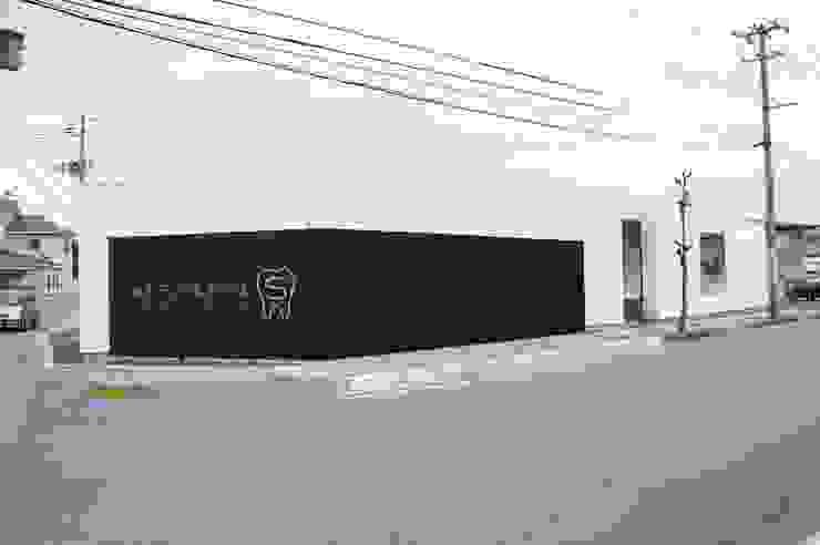 外観 一級建築士事務所A-SA工房 モダンな医療機関