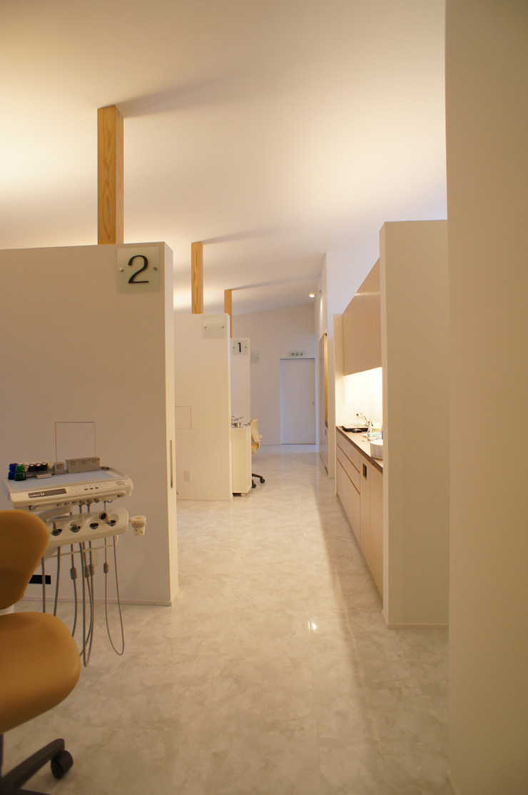 診療室 一級建築士事務所A-SA工房 モダンな医療機関