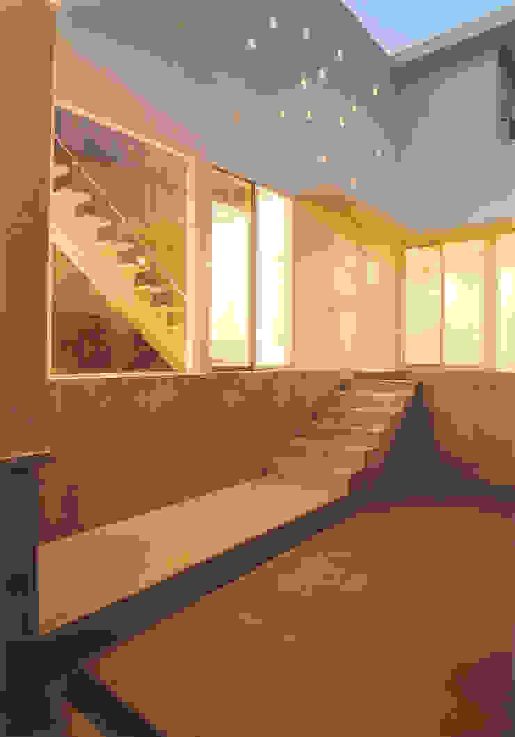 パーキング モダンな庭 の 阿部泰道建築設計事務所 モダン