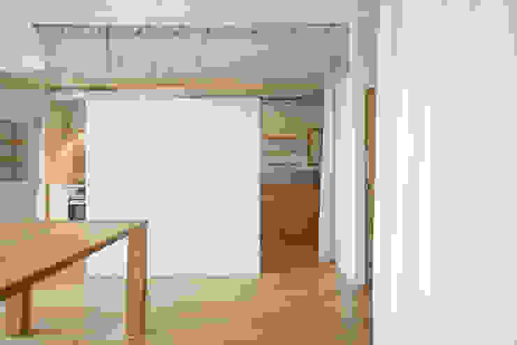 3DK ラスティックデザインの ダイニング の 松浪光倫建築計画室 ラスティック