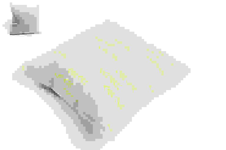 poduszka lniana grey: styl , w kategorii  zaprojektowany przez Leżę i Pachnę,Skandynawski