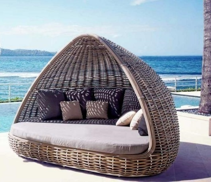 Magnificent outdoor furniture od homify Nowoczesny