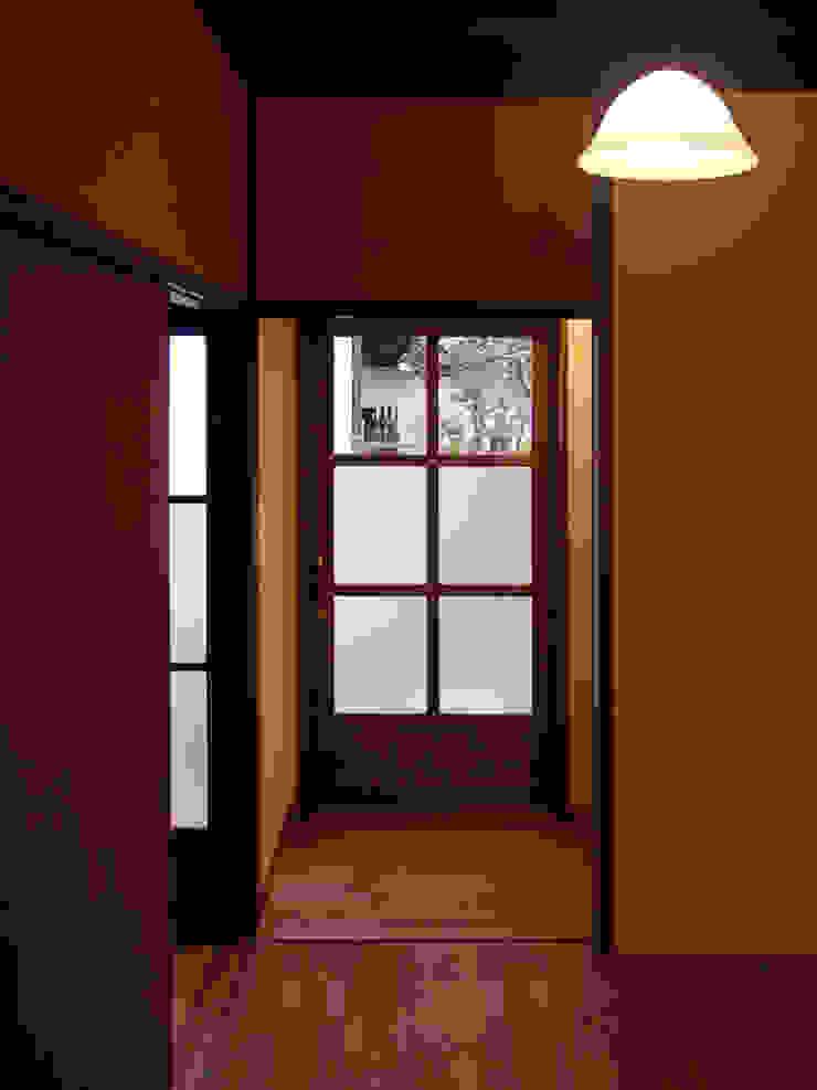 廊下 の 一級建築士事務所 ネストデザイン 和風 木 木目調