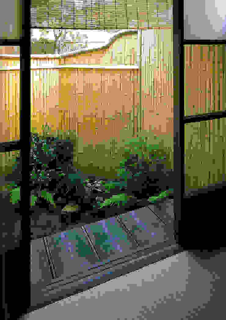 坪庭 の 一級建築士事務所 ネストデザイン 和風 竹 緑