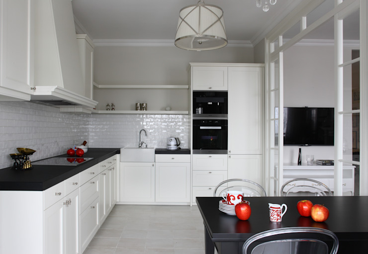 МАРИНА ПОКЛОНЦЕВА Scandinavian style kitchen