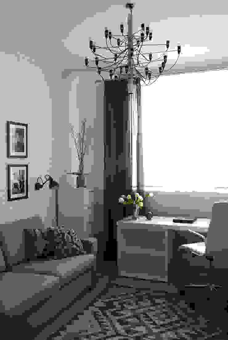 МАРИНА ПОКЛОНЦЕВА Scandinavian style study/office
