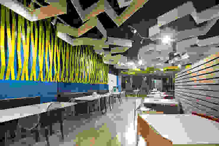 TP Puebla Comedores modernos de IAARQ (Ibarra Aragón Arquitectura SC) Moderno