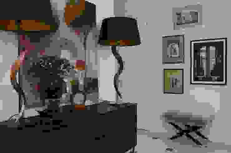 МАРИНА ПОКЛОНЦЕВА Scandinavian style corridor, hallway& stairs