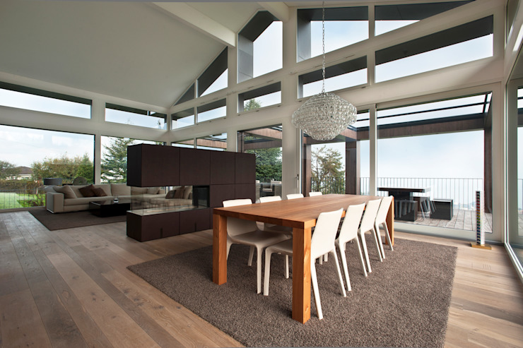 Modern dining room by SimmenGroup Holding AG Modern