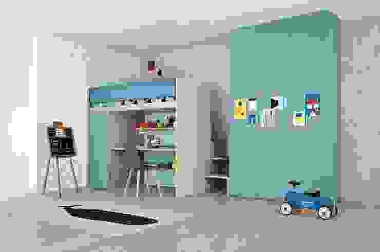 Children's Bedroom with Plenty of Storage por Nubie Kids Moderno