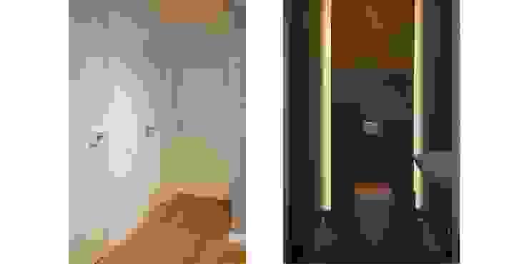 Трехуровневая квартира Ванная комната в стиле минимализм от Despace Минимализм