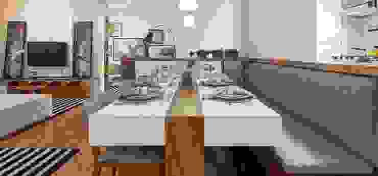 Freguesia do Ó | Decorados Salas de jantar modernas por SESSO & DALANEZI Moderno