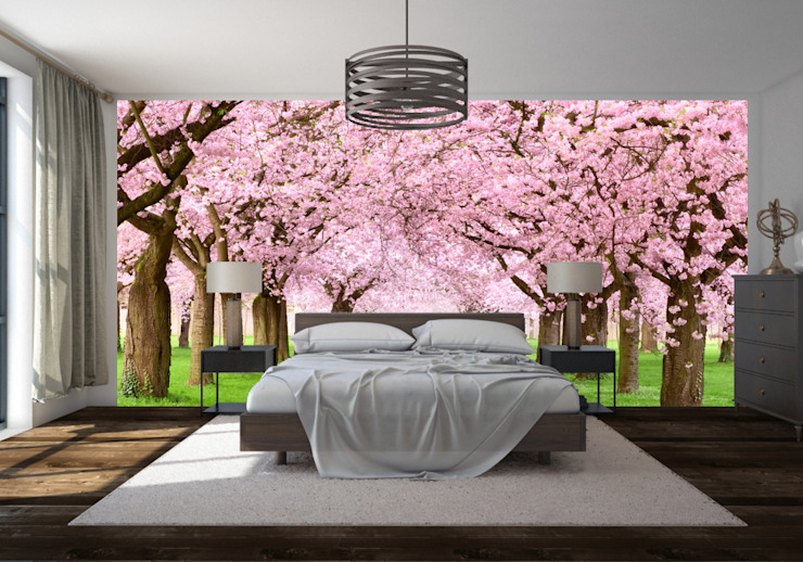 Bedroom wall mural von Transform a Wall Klassisch