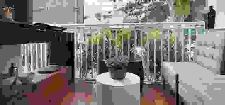 Балкон и терраса в стиле модерн от SESSO & DALANEZI Модерн