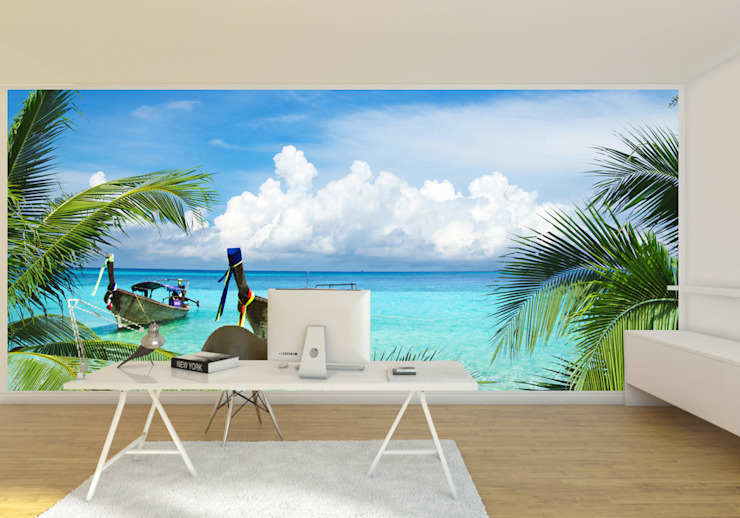 Home office wall mural Transform a Wall ArtworkPictures & paintings