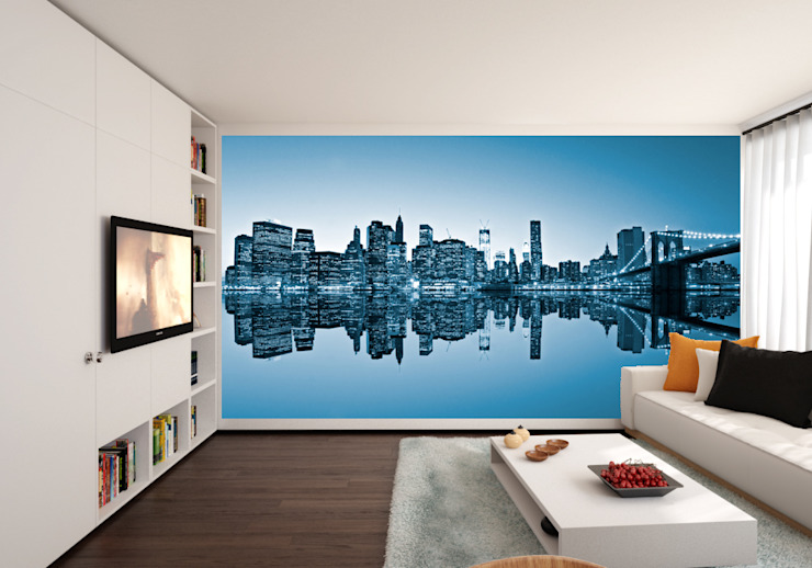 Living room wall mural Transform a Wall ArtworkPictures & paintings