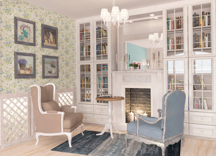 Classic style living room by Katerina Butenko Classic