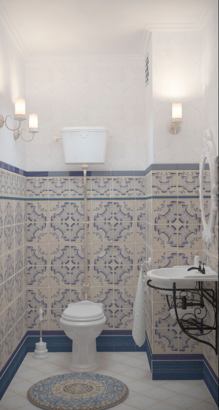 Classic style bathroom by Katerina Butenko Classic