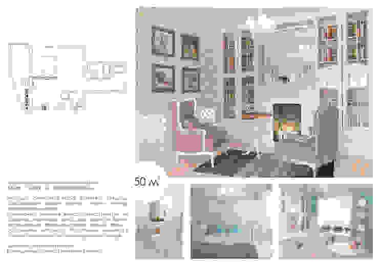 Salas de estar clássicas por Katerina Butenko Clássico