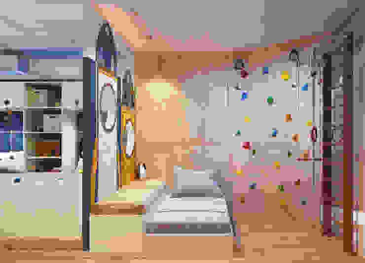 Dormitorios infantiles de Katerina Butenko Ecléctico