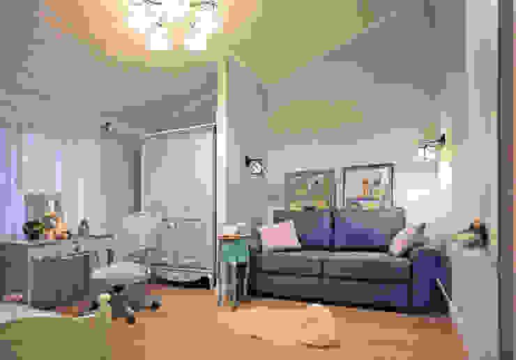 пос. Николина гора, Рублево-Успенское шоссе: Детские комнаты в . Автор – Дизайн-студия интерьера 'ART-B.O.s',