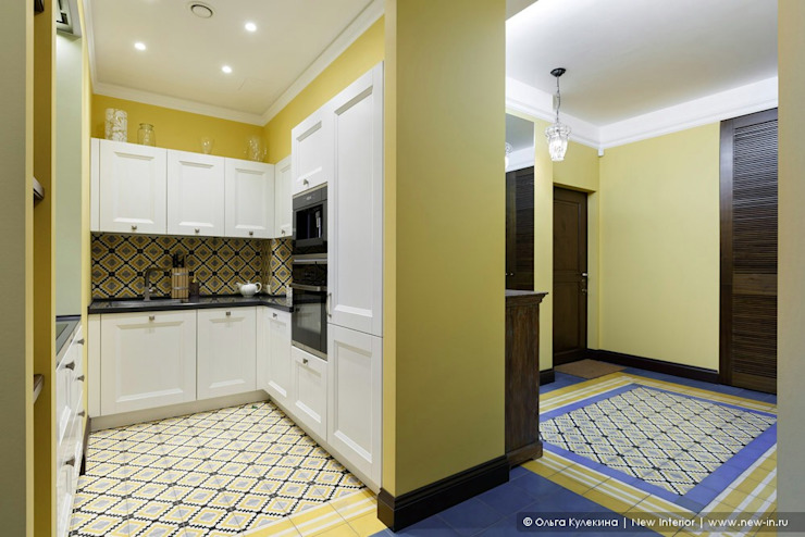Ольга Кулекина - New Interior Colonial style kitchen Yellow