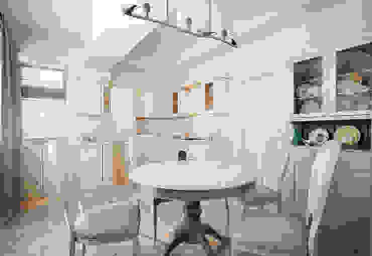 пос. Николина гора, Рублево-Успенское шоссе Кухня в классическом стиле от Дизайн-студия интерьера 'ART-B.O.s' Классический