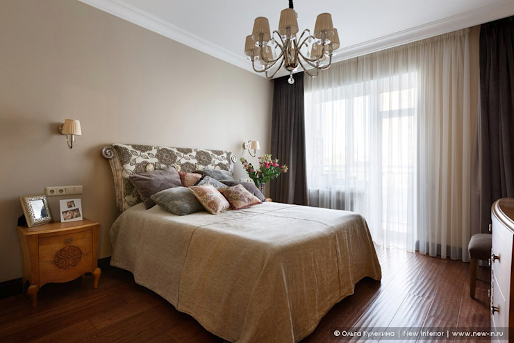 Ольга Кулекина - New Interior Colonial style bedroom Brown