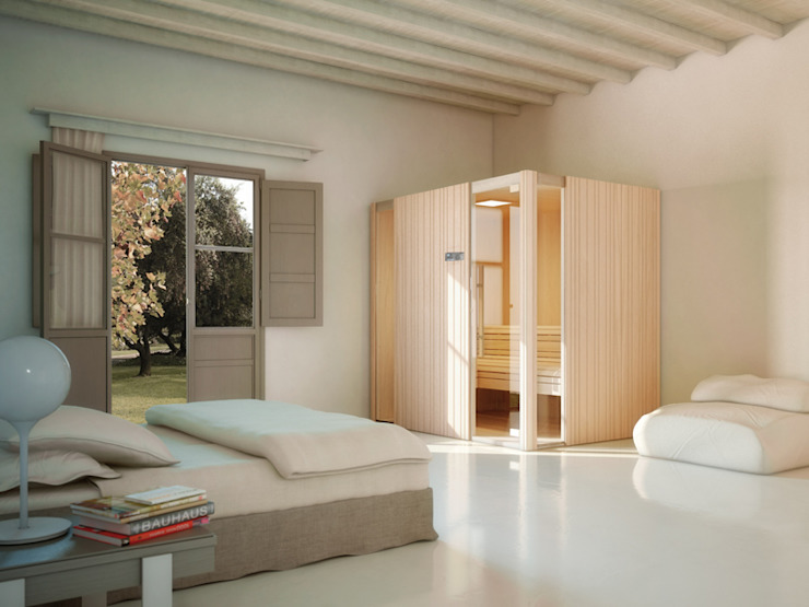 Spas  por Steam and Sauna Innovation, Moderno