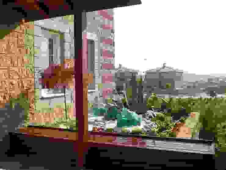Ev girişi Bahçevilla Peyzaj Tasarım Uygulama Kırsal/Country