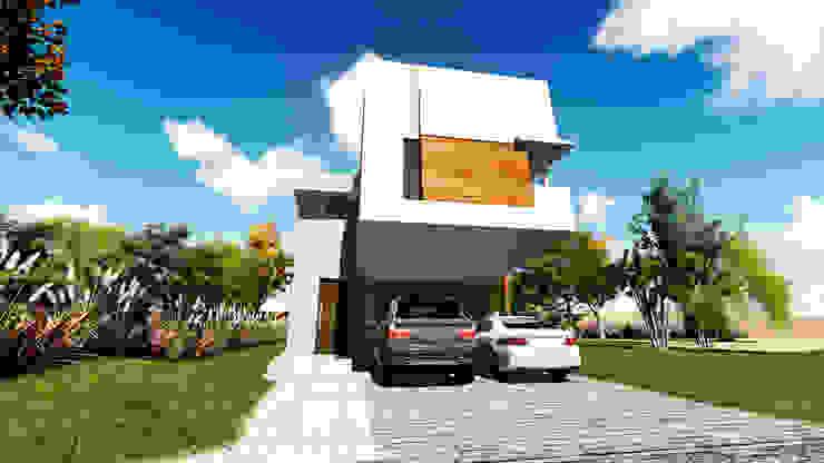 E&M House de Módulo 3 arquitectura Moderno