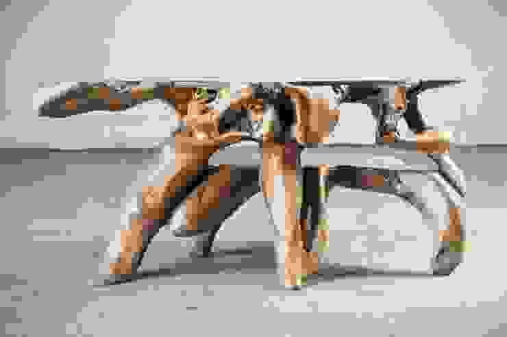 Roots / COCAINE TABLE от WOODSTONEBALI Рустикальный