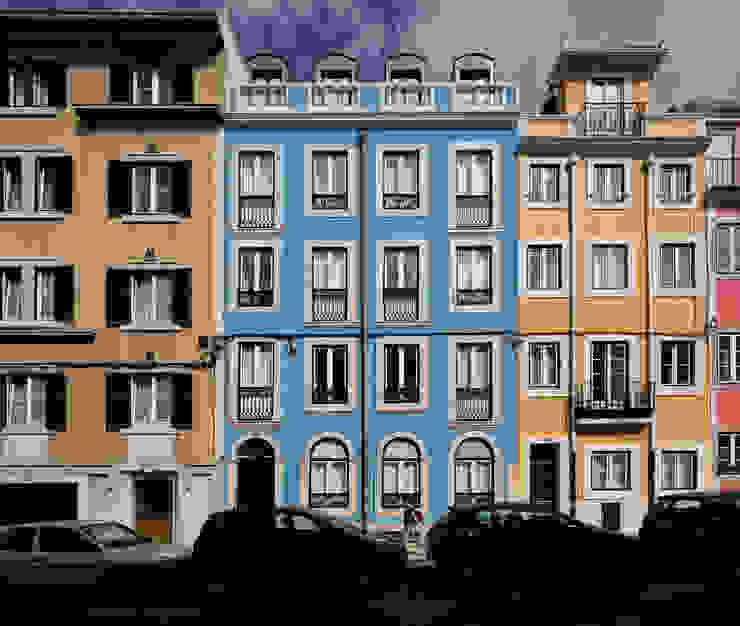Modern houses by RRJ Arquitectos Modern