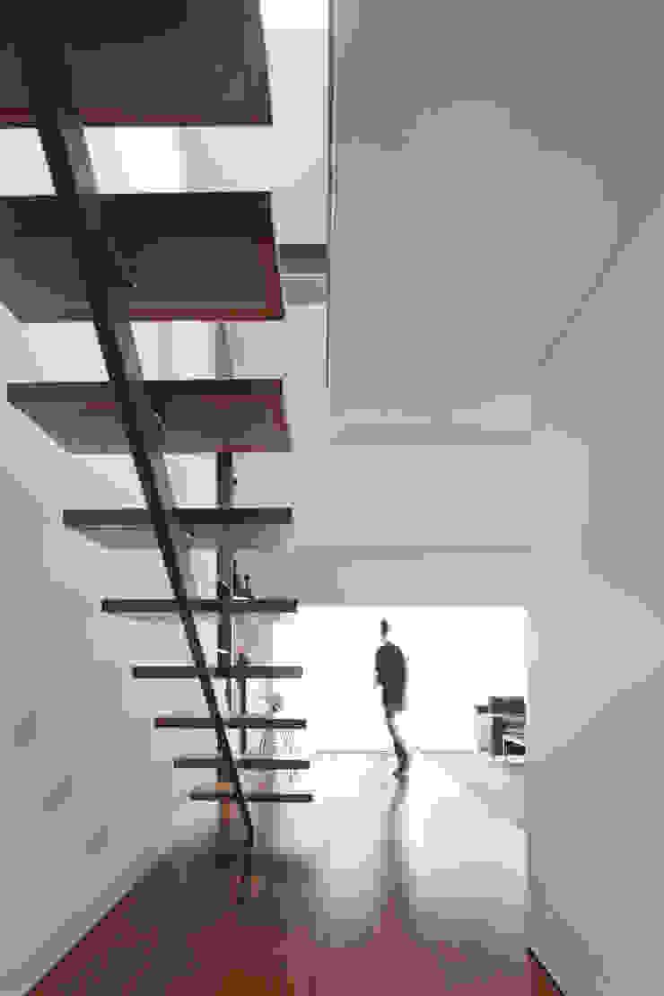 RRJ Arquitectos Pasillos, vestíbulos y escaleras de estilo moderno