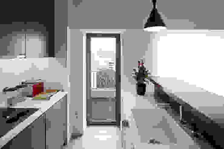 RRJ Arquitectos Cocinas de estilo moderno