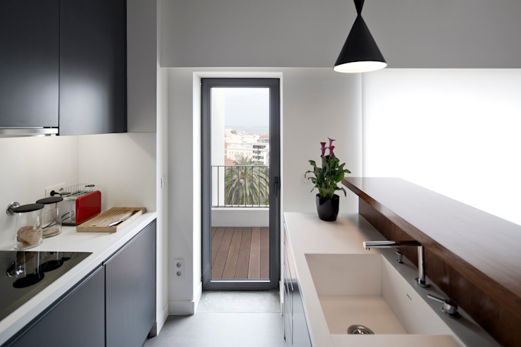 RRJ Arquitectos Kitchen