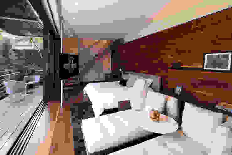 Casa Basaltica Habitaciones para niños de estilo minimalista de grupoarquitectura Minimalista