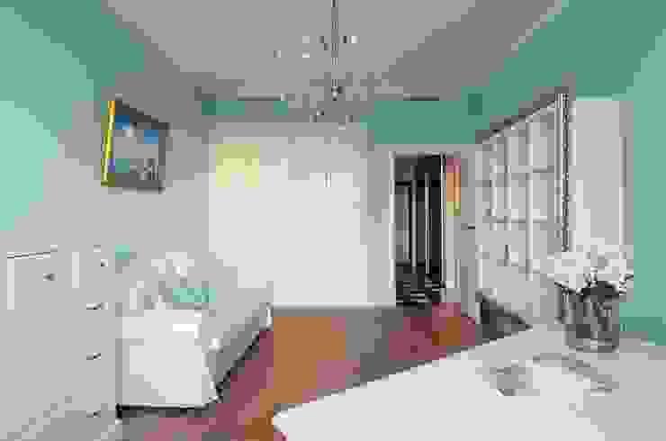 Идеальный фон (ЖК Авеню77) Рабочий кабинет в стиле модерн от White & Black Design Studio Модерн