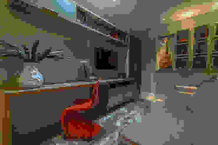 Apartamento em Belo Horizonte por Lívia Bonfim Designer de Interiores Moderno