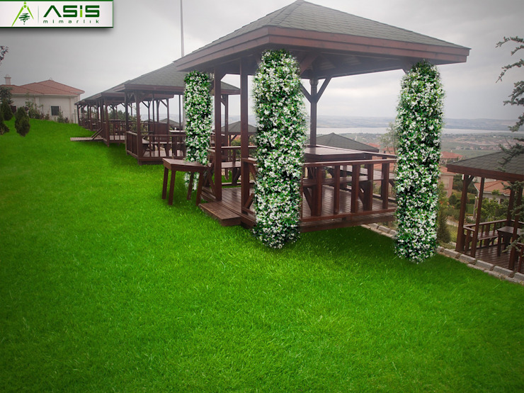 Pelican Hill Residance Asyatik Bahçe asis mimarlık peyzaj inşaat a.ş. Asyatik
