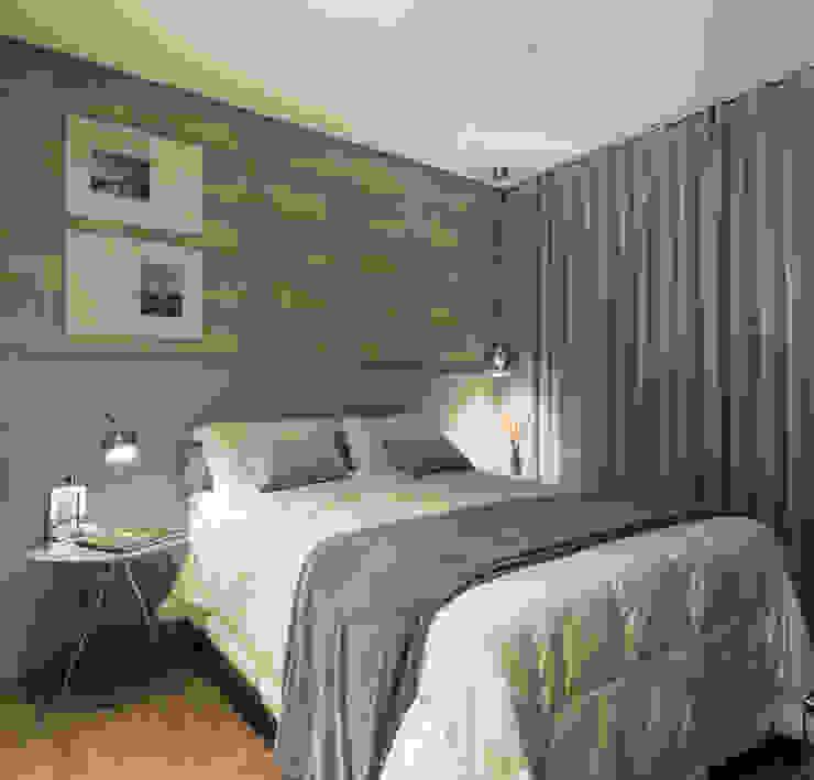 Phòng ngủ phong cách tối giản bởi Pura!Arquitetura Tối giản